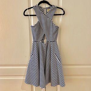 Torn by Ronny Kobo stripes dress size Xs